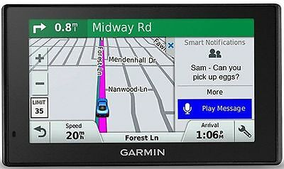 New Garmin DriveSmart 61 NA LMT-S with Lifetime Maps/Traffic, Bluetooth, WiFi