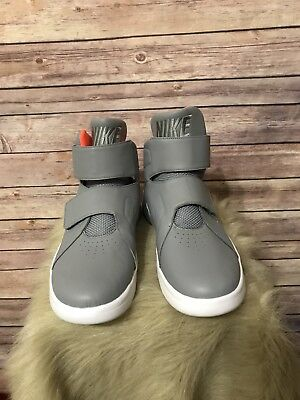 New Nike SZ. 10 Marxman Stealth Hot Lava Grey Mens High Top Sneakers