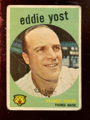 1959 Topps Baseball #'s 1-200 +Rookies - You Pick - Buy 10+ cards FREE SHIP