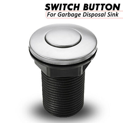 32mm Bonde Pop-up Bouton Evier Lavabo Baignoire Garbage Disposal Sink Air Switch