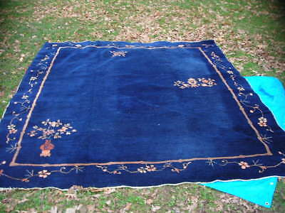 Clearance Sale Lovely Antique 1920 S Chinese Art Deco Rug 8 3x9 10