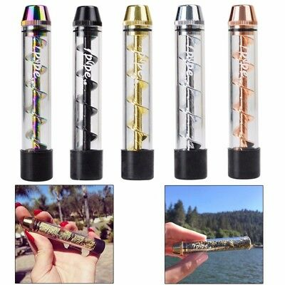 20pcs Lot 7Pipe Glass Twisty Blunt With Brush Kit Set Wholesale 【US】