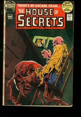 House Of Secrets #98 1972 Dc Comics Kaluta Alex Toth Fn-