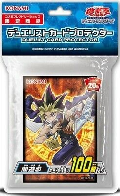 Yugioh Duelist Card Protector Yami Yugi Card Sleeves 100pcs Konami JAPAN