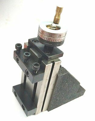 ToolPost Mini Vertical Slide (90 x 50 mm) for instant Milling Operation