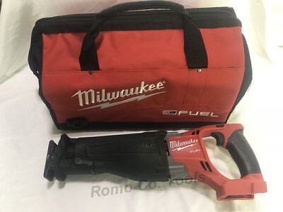 Milwaukee M18 FUEL Reciprocating Saw & Heavy Duty Bag (New From Larger Kit)