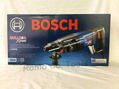 BOSCH Bulldog Xtreme SDS PLUS 11255VSR Rotary Hammer Drill New Corded 8.0 A -NEW