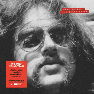Karl Ratzer - The Early Years (Red Vinyl, RSD 2018 Ltd. Edition, NEW, Sealed)