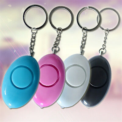 Loud Safety Security Keyring Personal Rape Attack Panic Alarm Emergency Siren