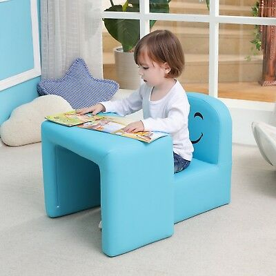 Multifunctional Children's Armchair, Emall Life Kids Chair and Table Set/Stoo...