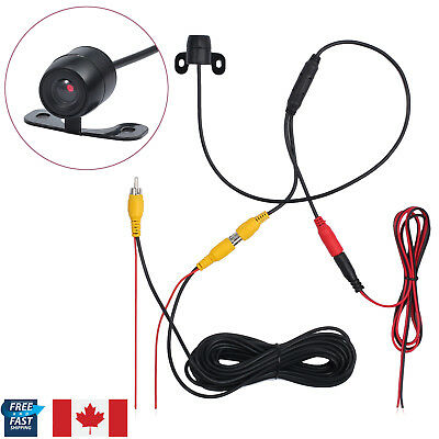 170° Waterproof Car Rear Camera Reversing Backup Parking View Night Vision Kit