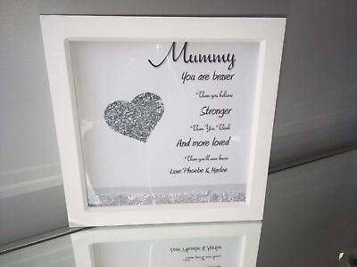 PERSONALISED BOX FRAMES, mum, best friends, friends, sisters ...