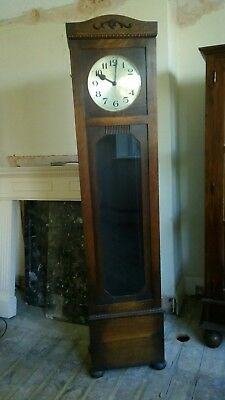 Grandfather Clock Norland London 1920's Style Great For A Hallway In Good Cond