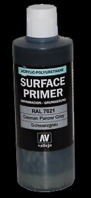 Vallejo 60ml Acrylic German Panzer Grey Primer RAL7021 # 73603