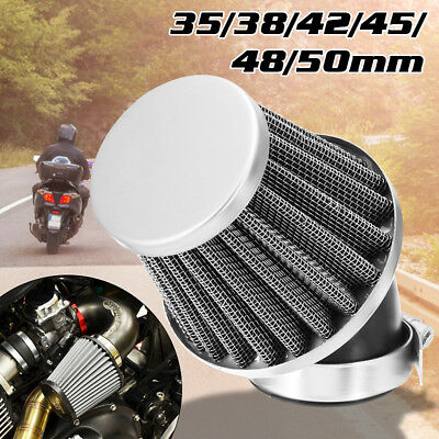 Universal 35mm-50mm Air Filter For 50 110 125 140CC Pit Dirt Bike Motorcycle ATV