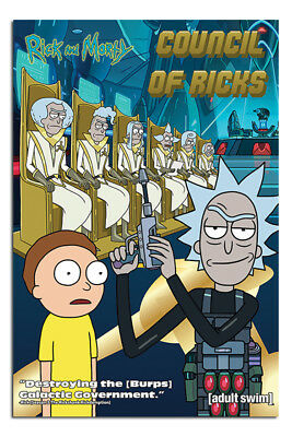 Rick And Morty Council Of Ricks Poster New - Maxi Size 36 x 24 Inch