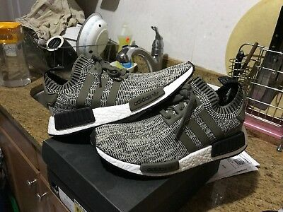 ADIDAS ORIGINALS NMD R1 PK Sesame Branch Core Black AQ0929 Men ... a9c0e5e7ec