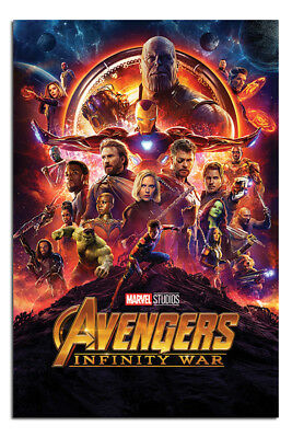 Avengers Infinity War One Sheet Poster New - Maxi Size 36 x 24 Inch