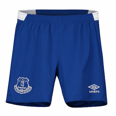 Everton Official Home Change Shorts 2018-19 Kids Umbro Football Trousers Pants