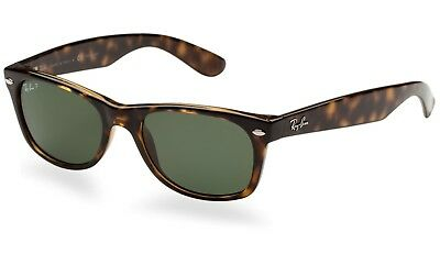 303ab883a9 NEW Genuine Ray-Ban RB2132-902 58 Unisex WAYFARER Tortoise Polarized  Sunglasses