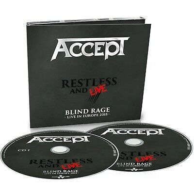 Accept - Restless And Live  2 Cd New+