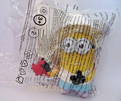 CRAB BITE MINION SPIELZEUG FIGUR NR.2 McDONALD's HAPPY MEAL JULI 2017 NEU & OVP