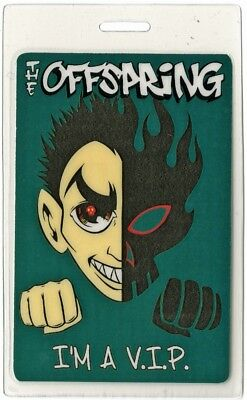 Offspring authentic 2000 concert Laminated Backstage Pass Conspiracy of One Tour