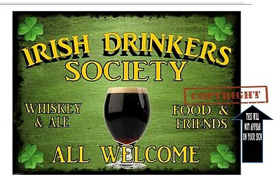Murphy Irish family name new mini A4 wood pub sign Guinness drinker Plaques & Signs