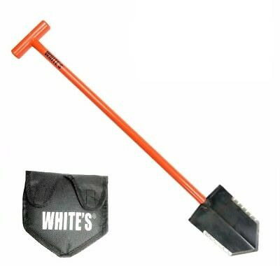 White's Ground Hawg Metal Detector Shovel w/ Sheath For Serious Hunters