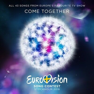 Eurovision Song Contest-Stockholm 2016  2 Cd New+