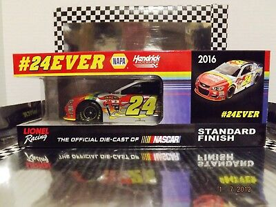 2016 Lionel Jeff Gordon And Chase Elliott Fantasy Dual Autogrpahed 1:24