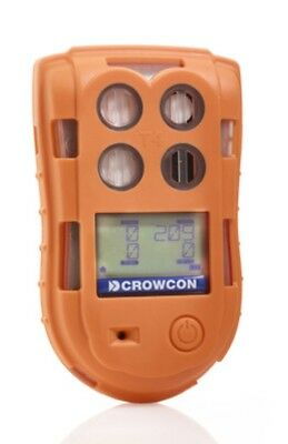 Crowcon T4 multi gas detector %LEL, Oxy, CO, H2S c/w charger & cradle