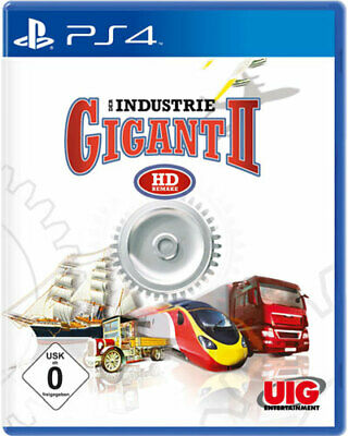 Industrie Gigant 2 HD Remake  PS-4 - UIG 4020636133190 - (SONY® PS4 / Simulation