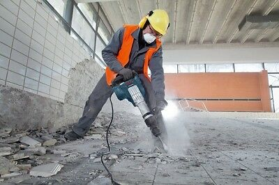 Jack Hammer Demolition Bosch Electric Concrete Low Vibration With Case