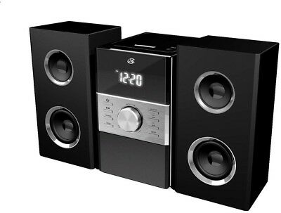 Home Music System CD AM FM Stereo Radio Sound Digital Speaker Remote Control New