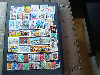 France - 50 Stamps Canceled (Brand State) (Aa6) French