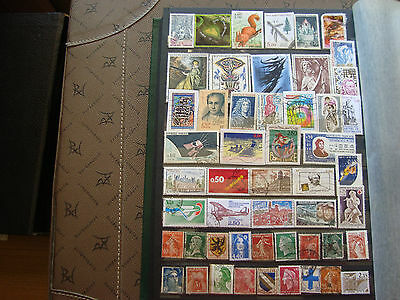France - 50 Stamps Canceled (Brand State) (Aa2) French