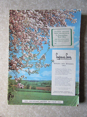 SIMPSON SEARS Spring & Summer 1953 Catalog Department Store Canada Book