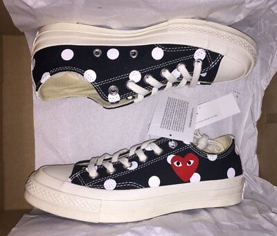 Comme des Garcons Play CDG Converse Small Heart Black