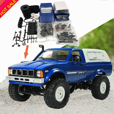 Assemble Car RC Truck Kits WPL C24 4WD 1/16 Off-road Toy Crawler Car Kids DIY