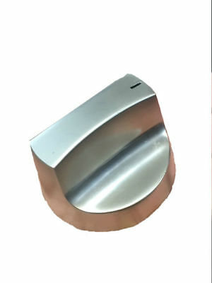 BBQs-R-US solid stainless steel BBQ control knob. Suits Jackeroo,Beefeater etc