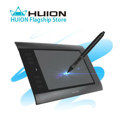 Huion 680s USB Digital Graphic Drawing Tablet 8 x 6 Inch for Art Drawing US Ship