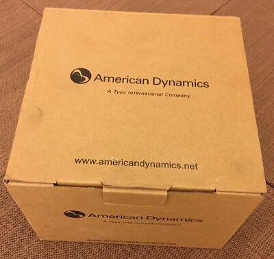 American Dynamics ADCA3DWOC2D Rev.A Discover High Resolution Outdoor Dome Camera
