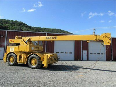 GROVE RT60S Rough Terrain Cranes