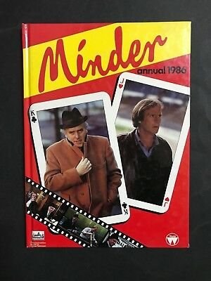 Minder T.v Annual 1986, 62 Pages