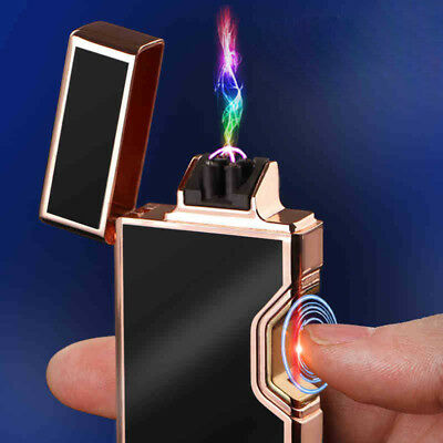 Infrared Dual Arc Electric USB Lighter Flameless Cigarette Rechargeable Plasma