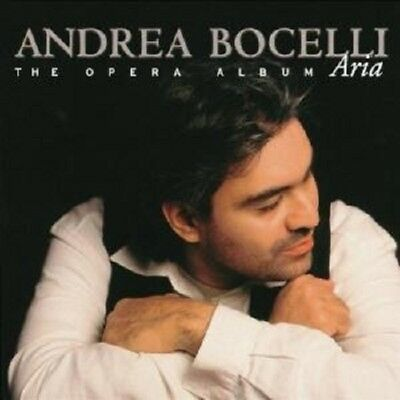 "Andrea Bocelli ""aria"" Cd New+"
