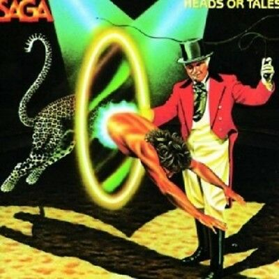 Saga - Heads Or Tales  Cd  10 Tracks Classic Hard Rock / Pop / Progressive  New+