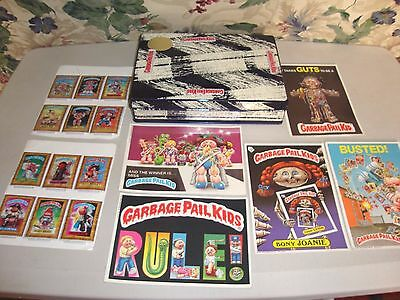 Lot Of Topps Garbage Pail Kids Puffy Stick Ons Giant Stickers
