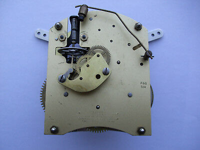 Smiths  Enfield Clock Movement With Floating Balance , Spares Or Repairs .